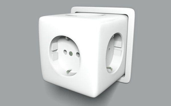 Halten Sie Ihre elektrischen Anschlüsse organisiert und sicher, indem Sie das Unnötige entfernen! Relogic haben dieses, simple System... Steckdose