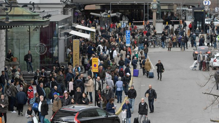 """Attacke in Stockholm, Schweden - Londons Bürgermeister: """"Auch wir ertrugen feigen Terror"""" - News Ausland - Bild.de"""