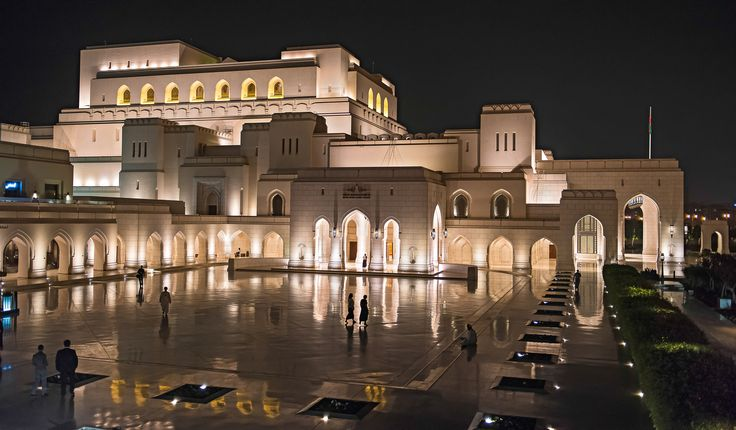 The Royal Opera House In Muscat - The Royal Opera House in Muscat, Sultanate of Oman. Opened to the public in 2011, it has become a national landmark for it's fascinating architecture.