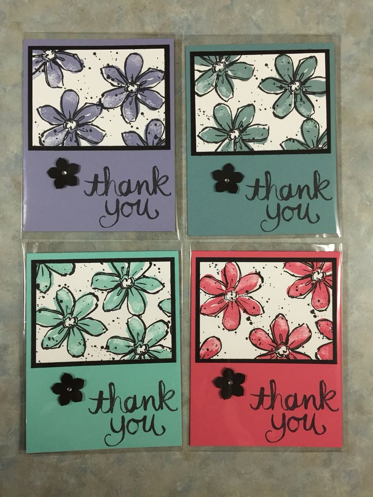 Created this card with the Garden in Bloom stamp set. I love how all Stampin' Up's colors of inks and card stock match perfectly! Creation By Christina... September 2015