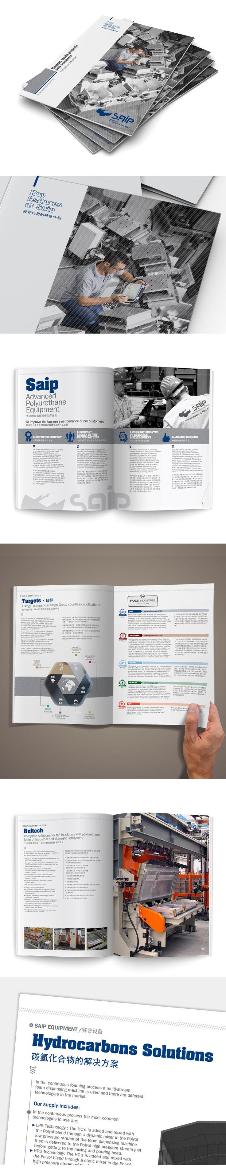 Key Features of Saip è uno strumento più snello, un catalogo fruibile da tutti coloro che operando in mercati non italiani avessero accesso a informazioni precise e dettagliate anche in cinese, con il solito apporto grafico/fotografico che ne caratterizzasse la veste.