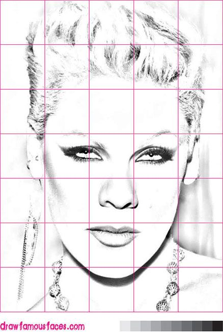 how to draw portrait for beginners pdf