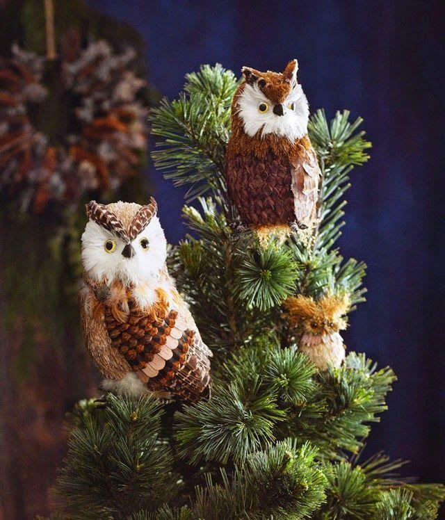 Barn Owl Christmas Tree Toppers - Barn Owl Tree Toppers : Set of 2 ...