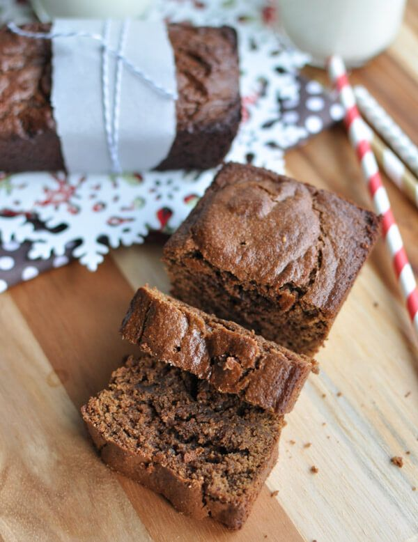 This Paleo gingerbread is the perfect comfort food during the holidays. Nothing smells more like Christmas than gingerbread baking in the oven.