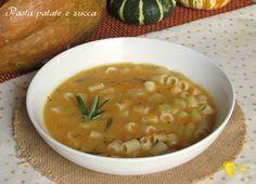 pasta patate e zucca ricetta minestra densa autunnale il chicco di mais