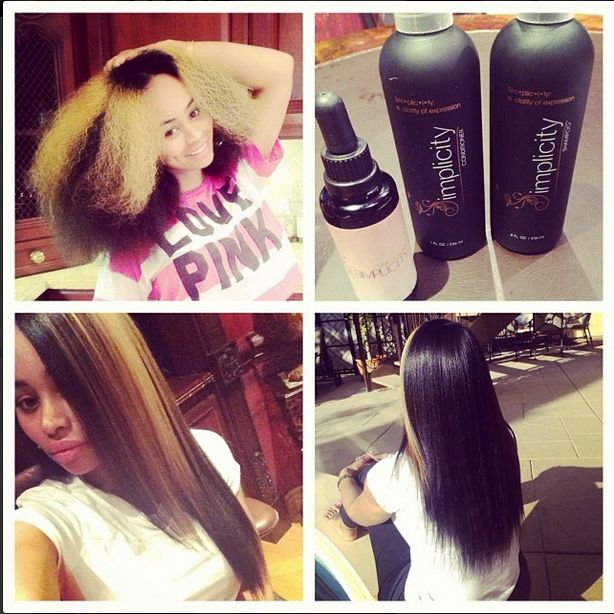 Blac Chyna long hair, don't care. That is her real hair! As if she wasn't cute enough. #blackgirlproblems #thestruggleisreal #whywontmyhairgrow