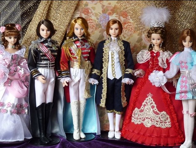 Lady Oscar / Rose of Versailles dolls poupées OOAK