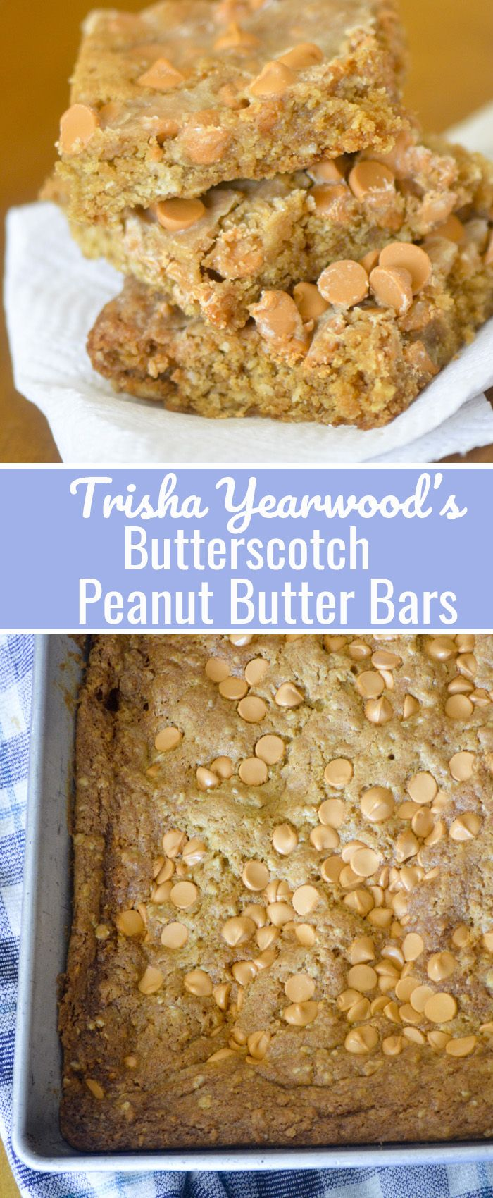 Trisha Yearwood-Inspired Chocolate Peanut Butter Bars