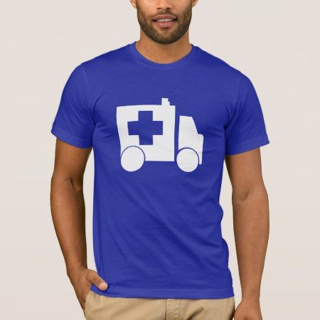 Blue Ambulance T-Shirt - tap, personalize, buy right now!