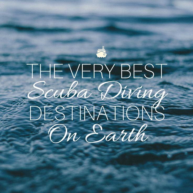 http://www.thetechgypsy.com/the-very-best-scuba-diving-destinations-on-earth/ #scuba #diving #bestdestinations #ocean #travel #wanderlust