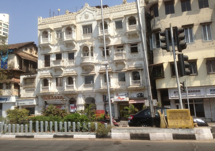 Faded glory. Colaba, Mumbai