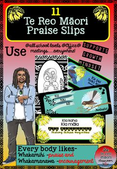 """Everybody loves giving and receiving praise and affirmations! These beautiful slips are not only for any teaching level but for work and the office too! People would love to receive a compliment or some encouragement and while doing so getting more te reo out there.==========*=======================================*===========I produced these as someone said """"I'm tired of only being able to say """"Ka pai!""""Now you can have a range of 11 other whakamihi.These can be laminated and made into…"""