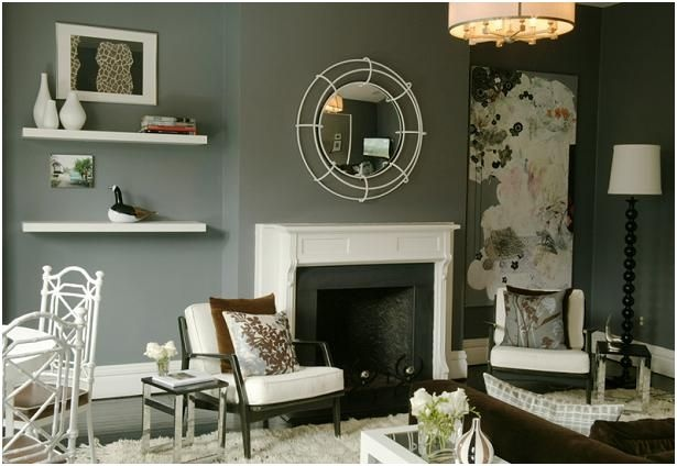 Man's play.  The white details in this room give it so much depth and character.