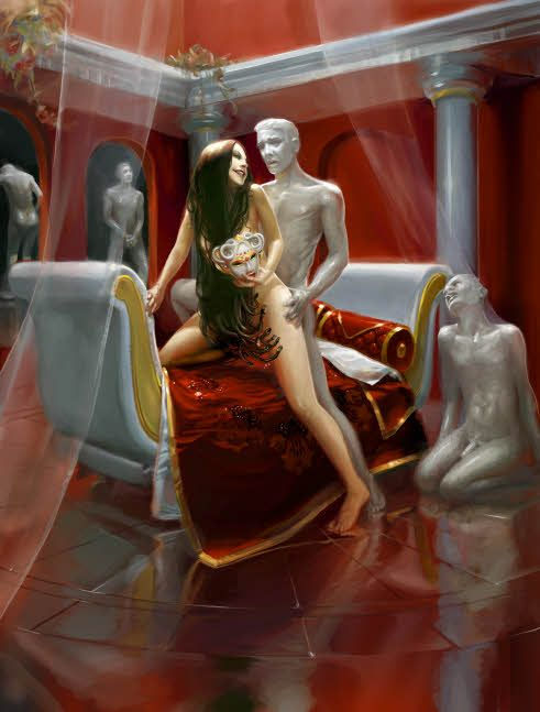 LotFP Weird Fantasy Role-Playing Rules & Magic interior illustrations by Cynthia Sheppard