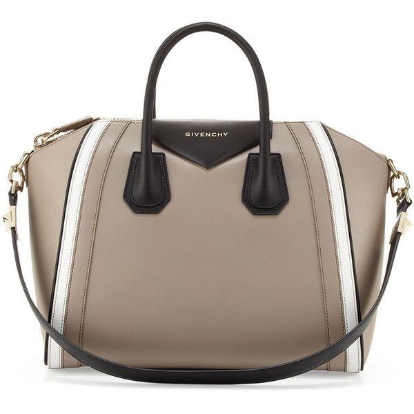 2f5449d40083 Givenchy Antigona Small Tricolor Satchel Bag