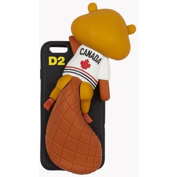 DSQUARED2 iPhone 6 Cover ($95) ❤ liked on Polyvore featuring men's fashion, men's accessories, men's tech accessories, multicoloured and dsquared2