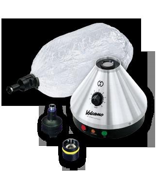 Vaporizador Volcano      Fabricado artesanalmente en Alemania con materiales neutros que garantizan la pureza del sabor, el Volcano Classic te durará toda la vida
