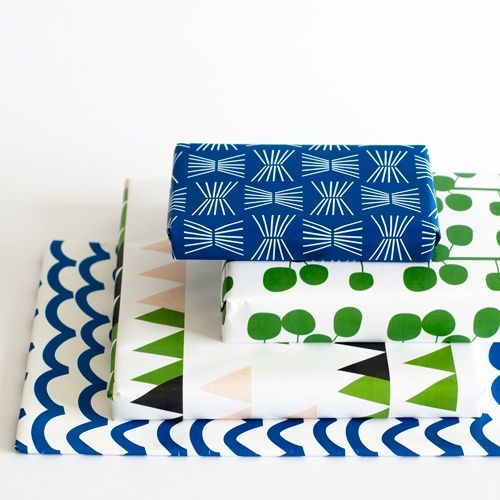 Jessica Nielsen » wrapping paper collection