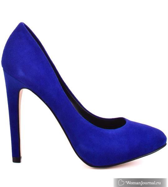 Синие замшевые туфли форум