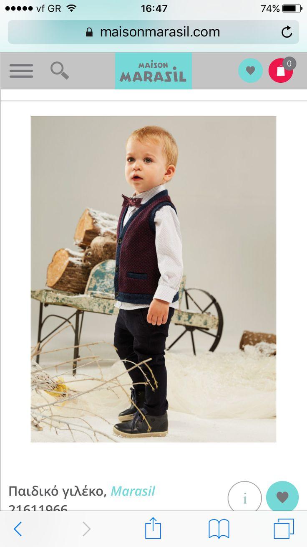 Maison Marasil AW2016/17 classic chic tailoring littleman winteroutfit