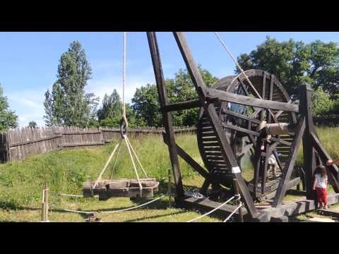 ▶ Camp de siège médiéval larressingle - YouTube