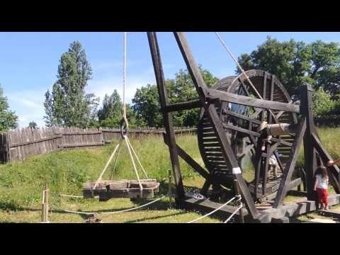▶ Camp de siège médiéval larressingle - YouTube