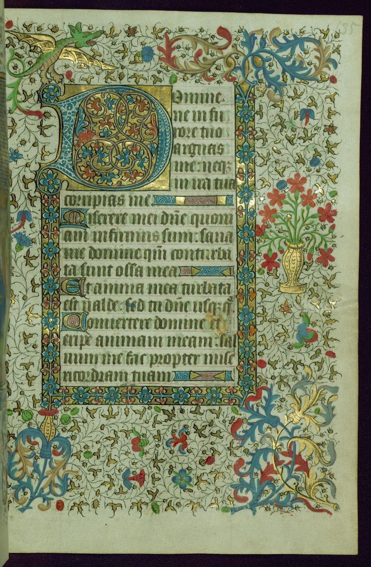 Book of Hours, Initial, Walters Manuscript W.267, fol. 135… | Flickr