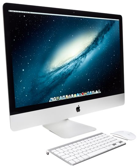 Apple iMac 27-inch all in one, elegant as always