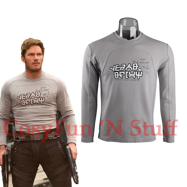 Image of NEW 2017 Guardians of the Galaxy 2 Star-Lord Shirt Peter Jason Quill Cosplay