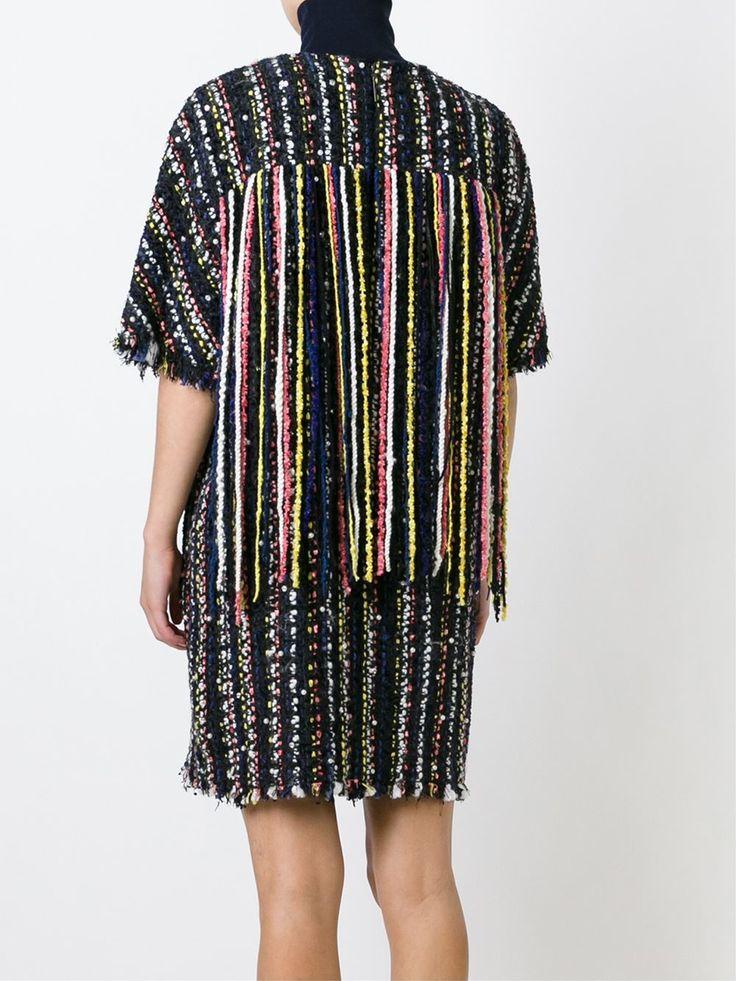 Купить MSGM твидовое платье с необработанными краями  в Lillas Fashion from the world's best independent boutiques at farfetch.com. Shop 300 boutiques at one address.