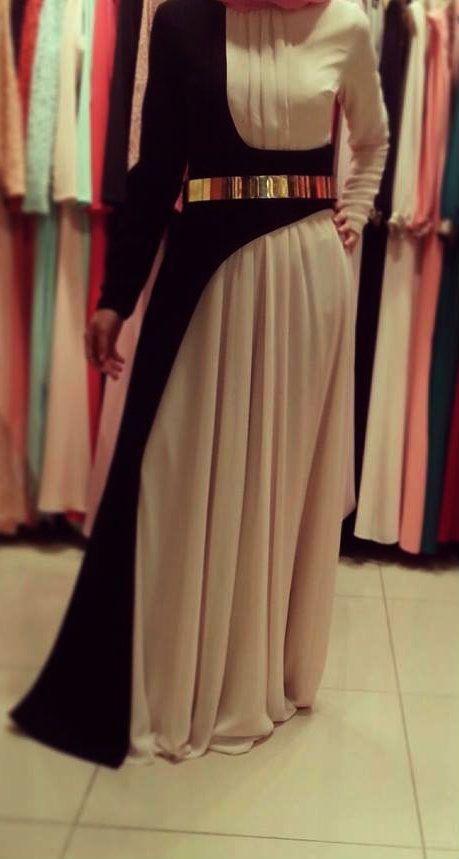 Long Sleeved Hijab Dress.