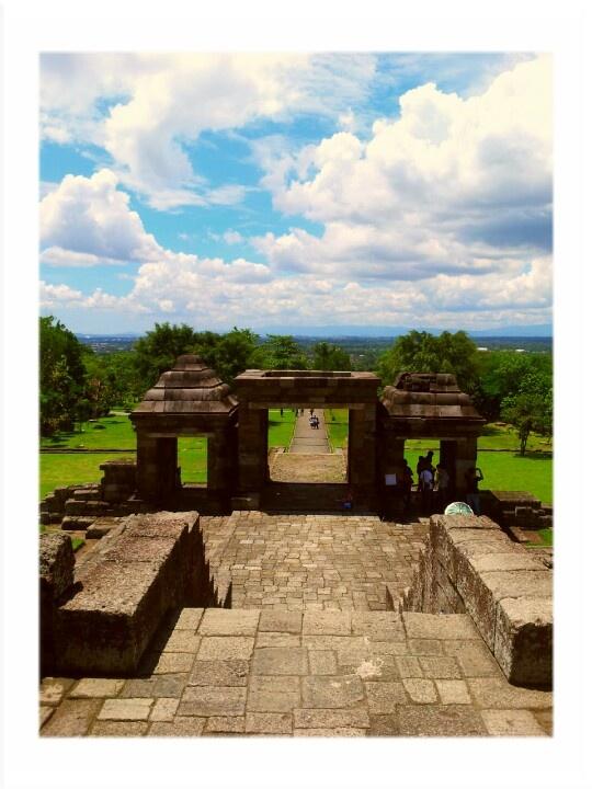 Ratu Boko's Temple Heritage Site. #Jogjakarta #Indonesia