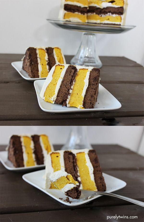 Oreo Kabocha Squash Layered Cake Gluten Grain Sugar And Dairy Free