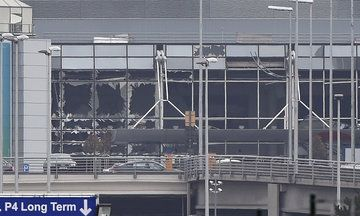 2016March22~Deadly Explosions Rock Brussels Airport And Subway. The Capt was at BRU one month ago today.