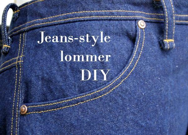 Tegn og sy cool lommer til din nederdel (eller bukser) med denne skridt-for-skridt vejledning.