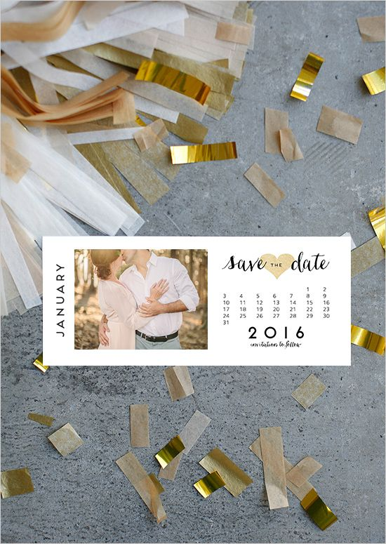 Free Printable Photo Save The Dates