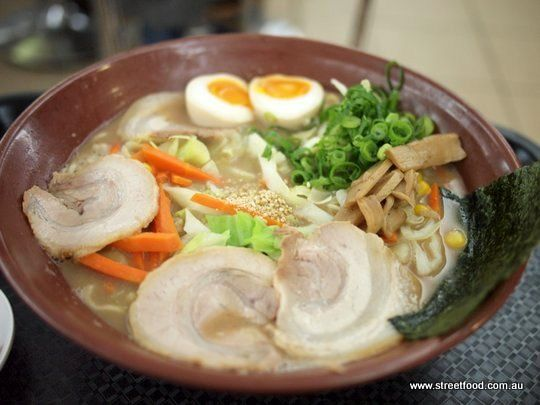 Gumshara Japanese Ramen ~ Miso Ramen - Eating World - Chinatown