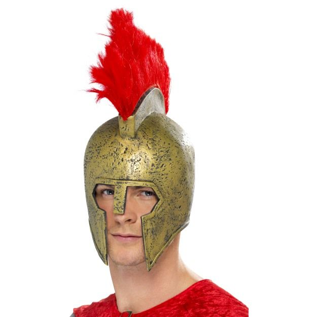 Perseus Gladiator Helmet, Gold