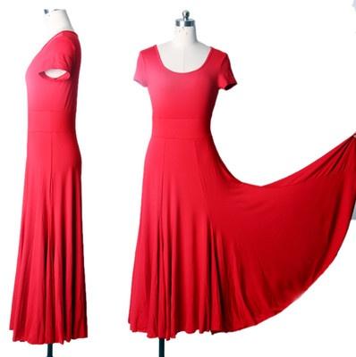 SFD004RD New Women Ballroom Smooth Latin Tango Salsa Swing Dance Party Dress   eBay