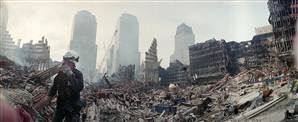 Ted S. Warren / Reuters Rescue workers continue their efforts Sept. 24, 2001, at the site of the World Trade Center attack.