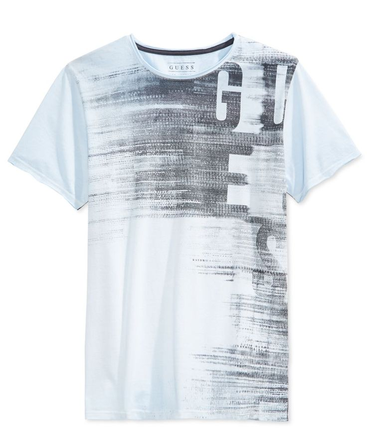 Guess Men's Ges Subliminal Graphic-Print T-Shirt …