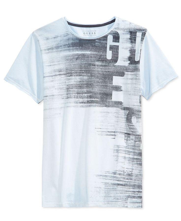 Guess Men's Ges Subliminal Graphic-Print T-Shirt                              …