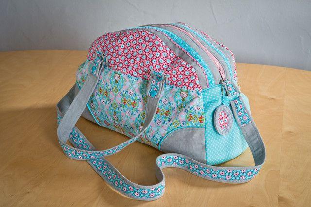 Weekender-Tasche , Kreativ-Ebook - farbenmix Online-Shop - Schnittmuster, Anleitungen zum Nähen