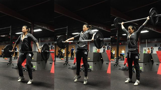 """Diane Fu's """"Olympic-Style Lifting Builder 1"""" Online Video Workouts on Cody"""