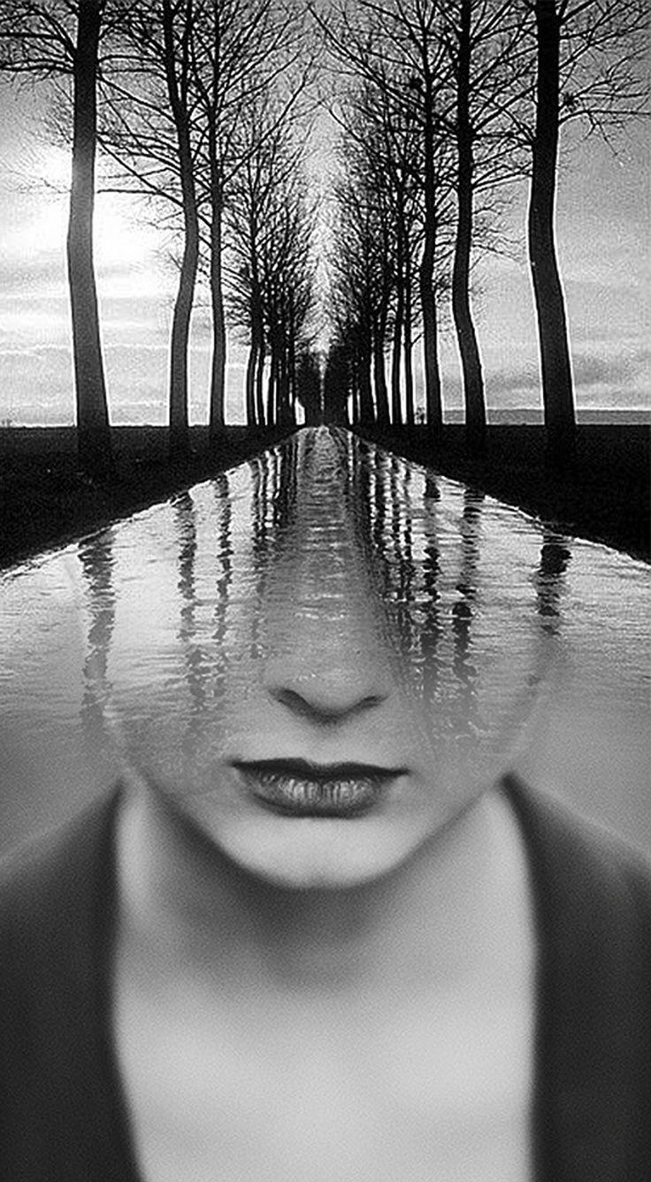 картинки черно белые грусть