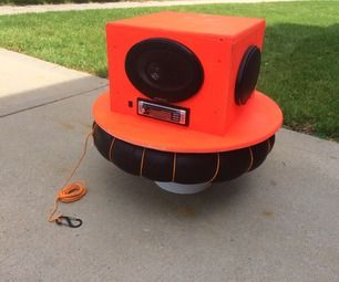 DIY River Radio- Floating Stereo that ROCKS!