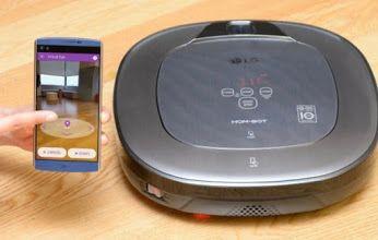 Webhouse.pt - LG cria robô autónomo que limpa e vigia