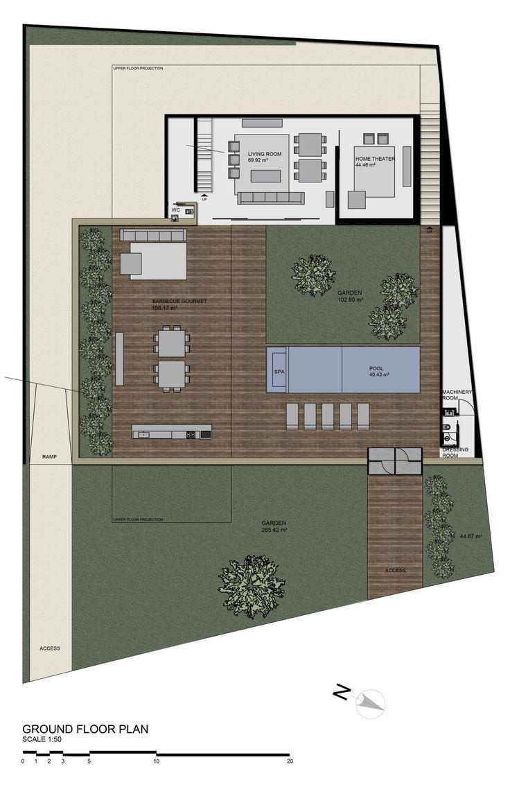 SN House,Ground Floor Plan