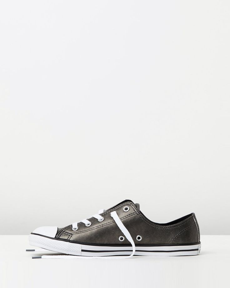 Chuck Taylor All Star Dainty Metallic Leather by Converse Online | THE ICONIC | Australia
