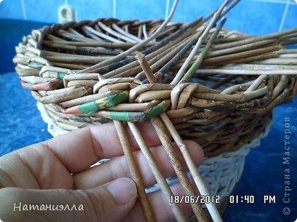 Мастер-класс Плетение плетенка- 3 в одном Бумага газетная фото 5